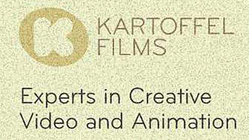 Digital ad banners Kartoffel Films brand promotion.