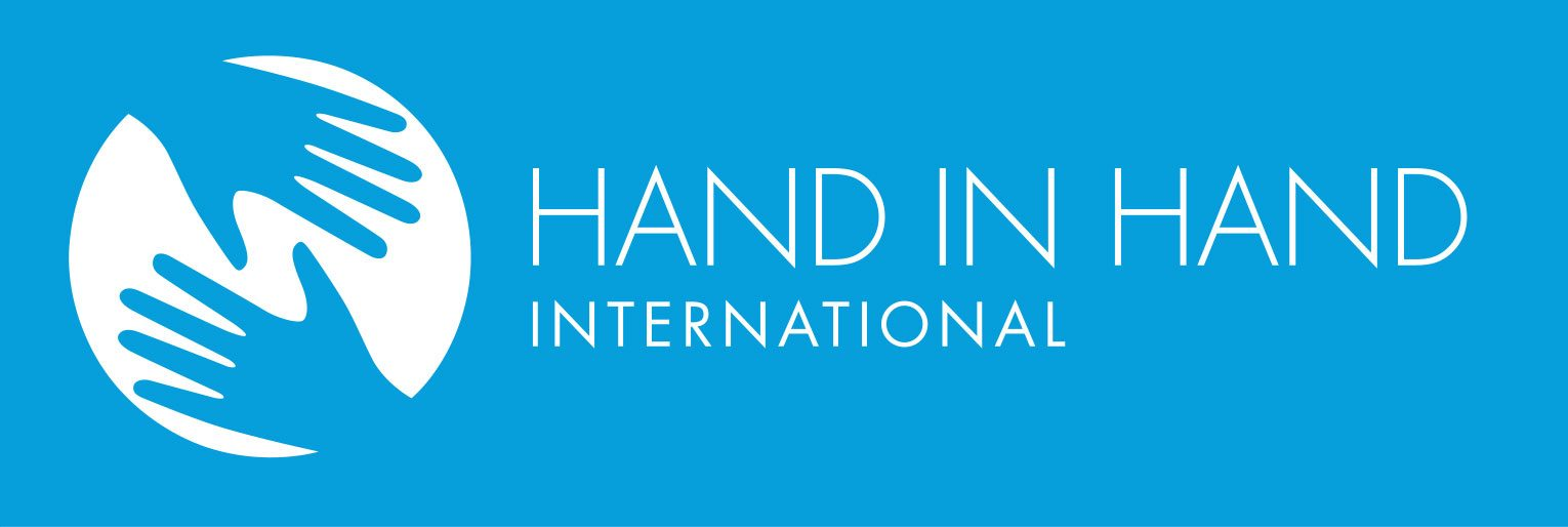 Blue Hand in Hand International logo