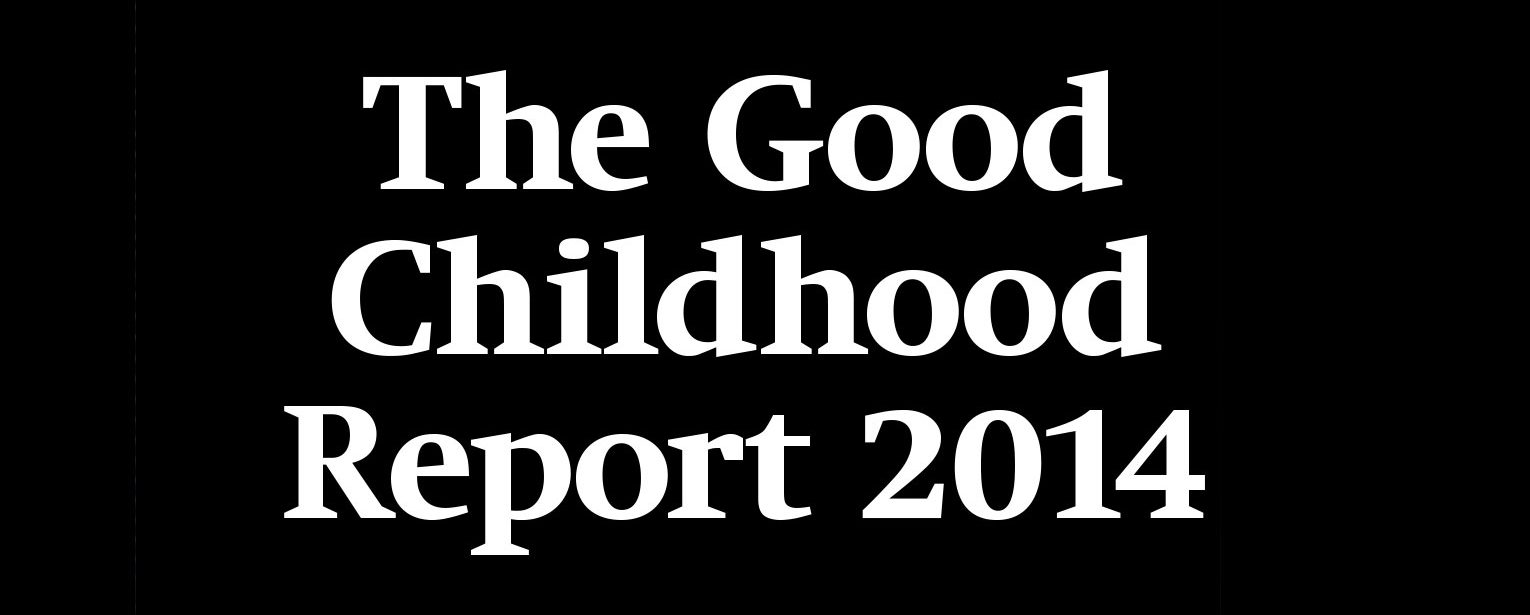 Research report heading The Good Childhood Report.