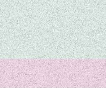 Web banner pink and green TV static.