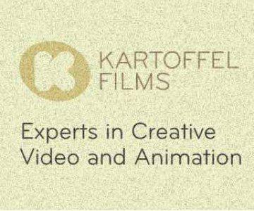 Kartoffel Films brand promotion web banner.
