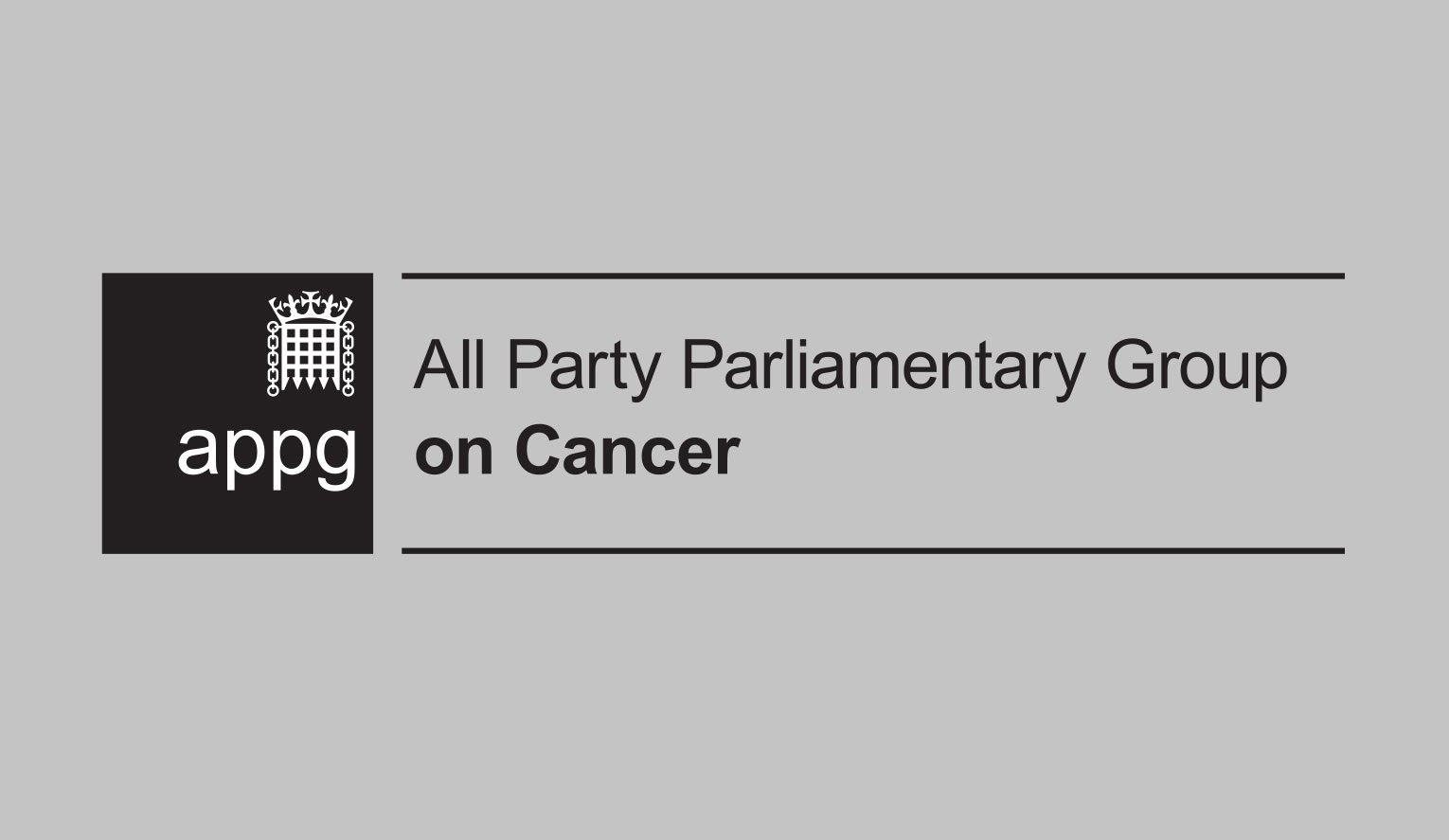 New brand logo created for the APPG on Cancer