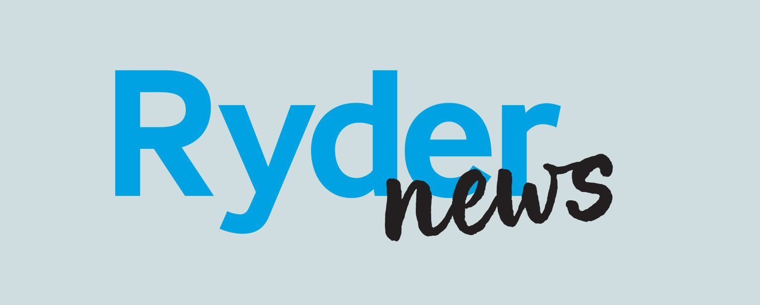 Internal staff magazine RyderNews logo