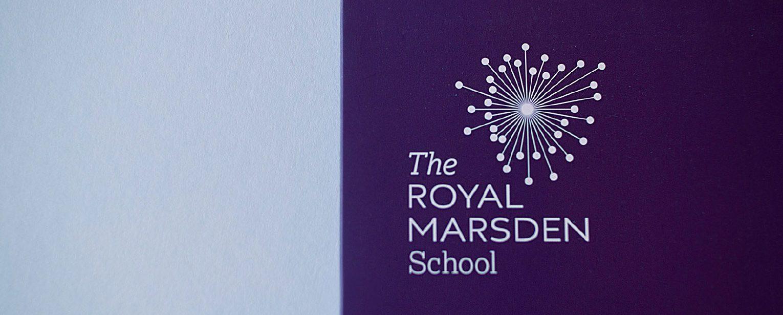 The Royal Marsden School logo.