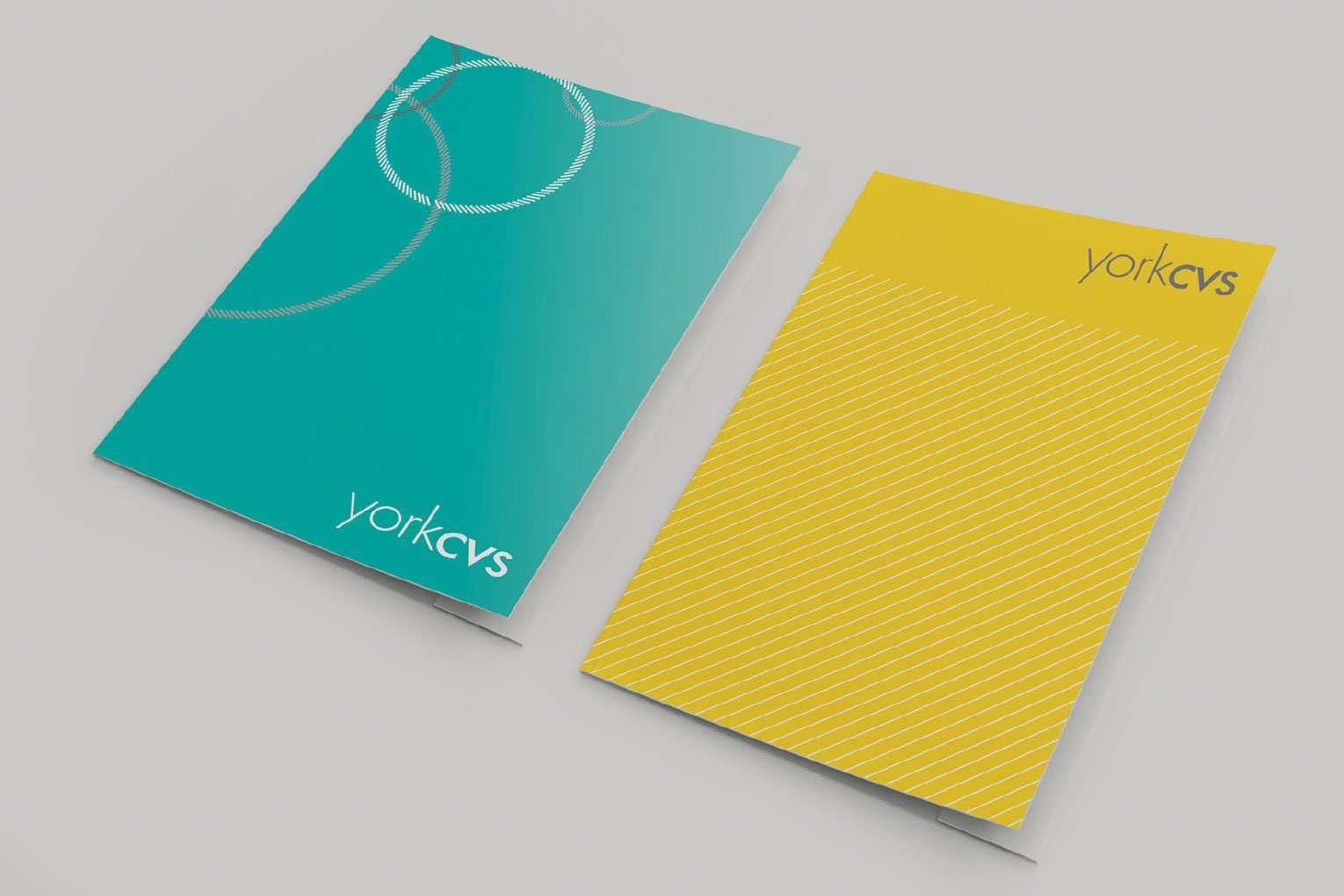 Changing brand perceptions pattern folders.