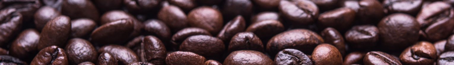Rich brown coffee beans.