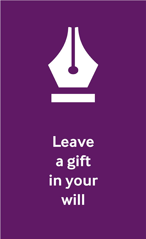 Nib of an ink pen icon to represent leave a gift in your will.