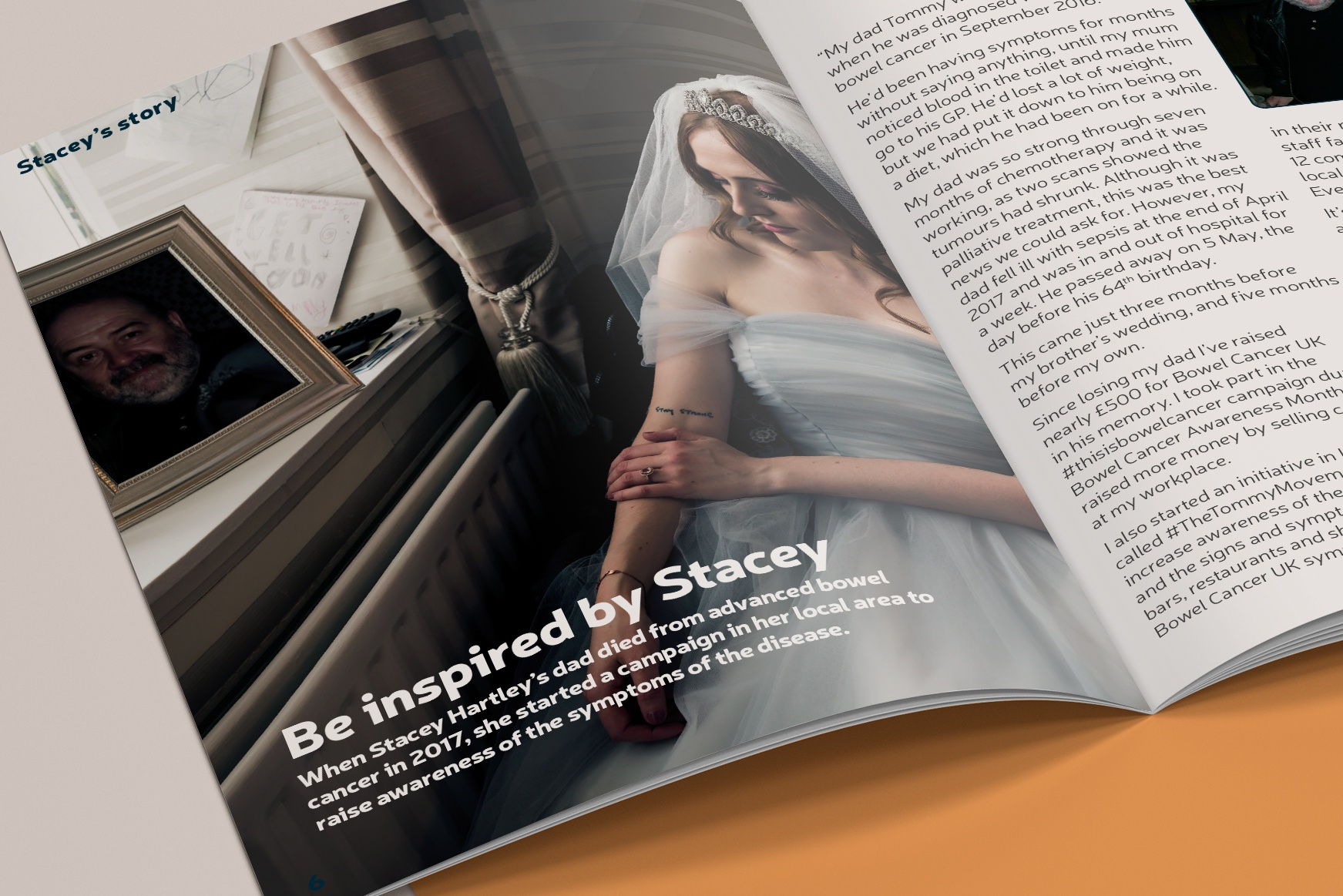 A feature spread from the magazine