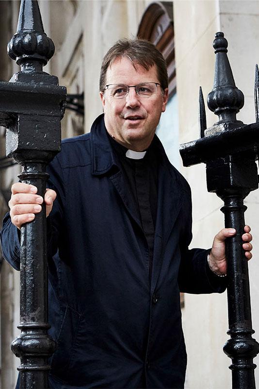 Revd Richard Carter, Associate Vicar at St Marin's.