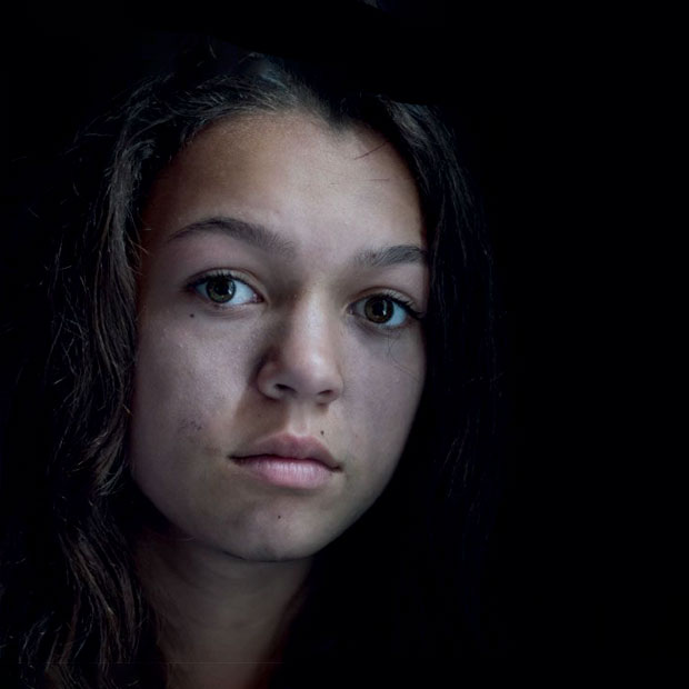 Freya, teenage runaway.