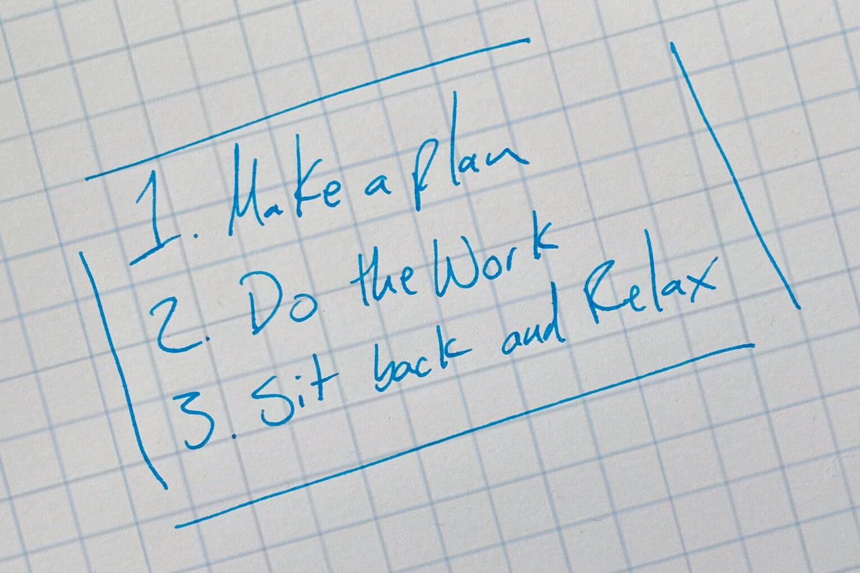 List of three things that feels easy